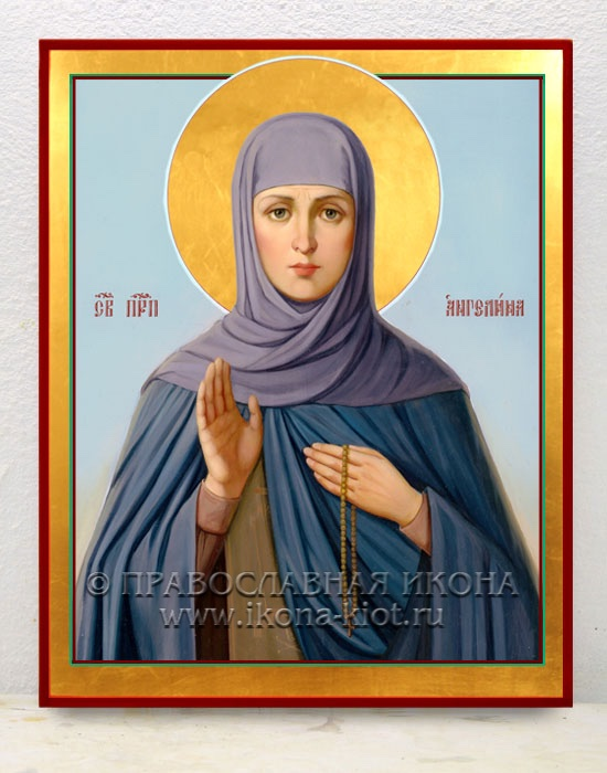Икона «Ангелина Сербская» (образец №6)