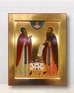 Икона «Антоний и Феодосий Печерские»