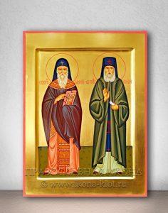 Икона «Арсений и Паисий, преподобные»