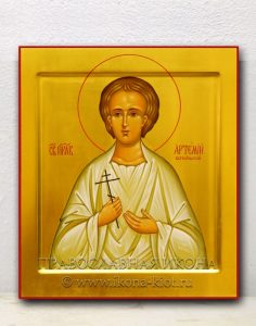 Икона «Артемий Веркольский, мученик» (образец №1)
