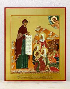 Икона «Боголюбская Божия Матерь» (образец №2)