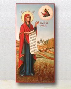 Икона «Боголюбская Божия Матерь» (образец №3)