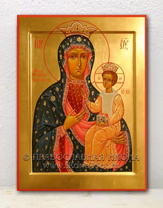 Икона «Ченстоховская Божия Матерь» (образец №3)