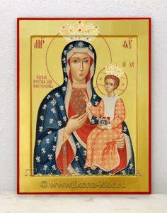 Икона «Ченстоховская Божия Матерь» (образец №4)