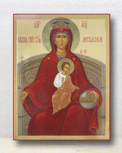 Икона «Державная Божия Матерь» (образец №2)