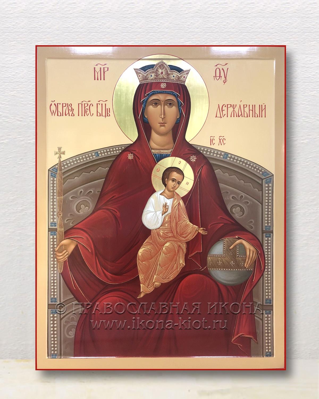 Икона «Державная Божия Матерь» (образец №1)