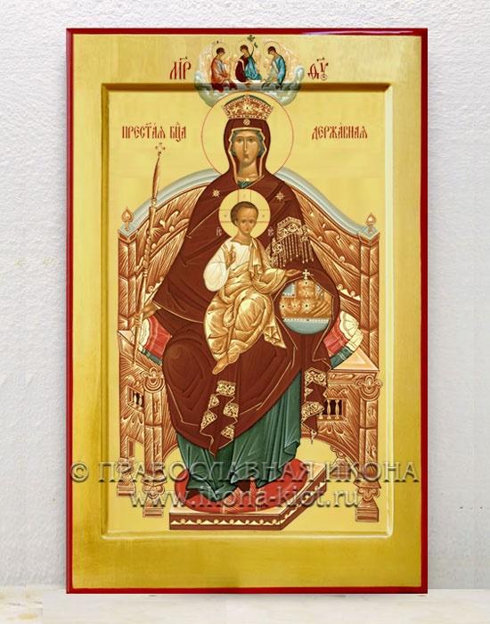 Икона «Державная Божия Матерь» (образец №3)