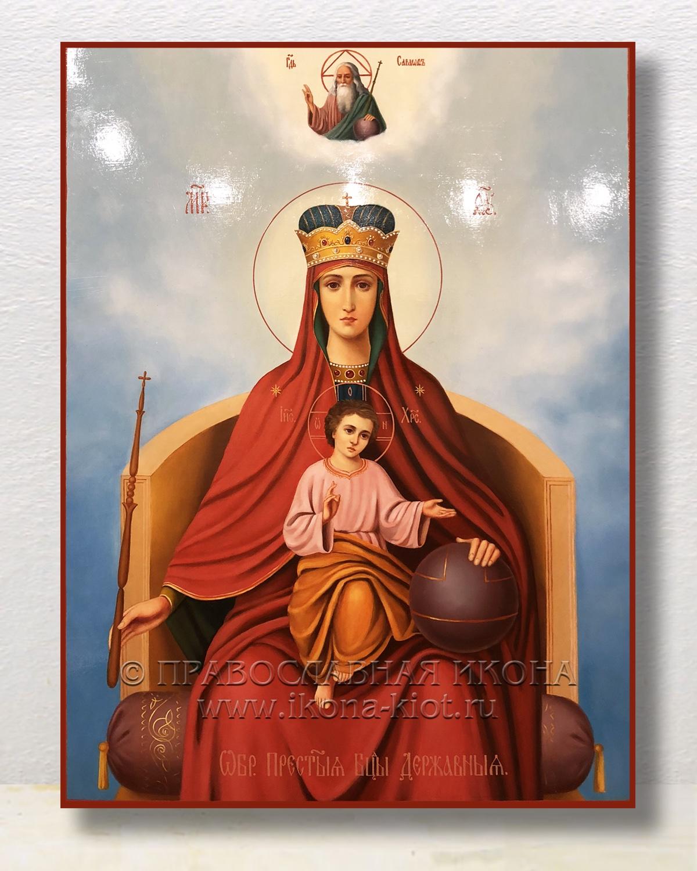 Икона «Державная Божия Матерь» (образец №4)