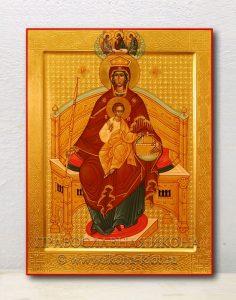 Икона «Державная Божия Матерь» (образец №6)