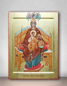 Икона «Державная Божия Матерь» (образец №7)