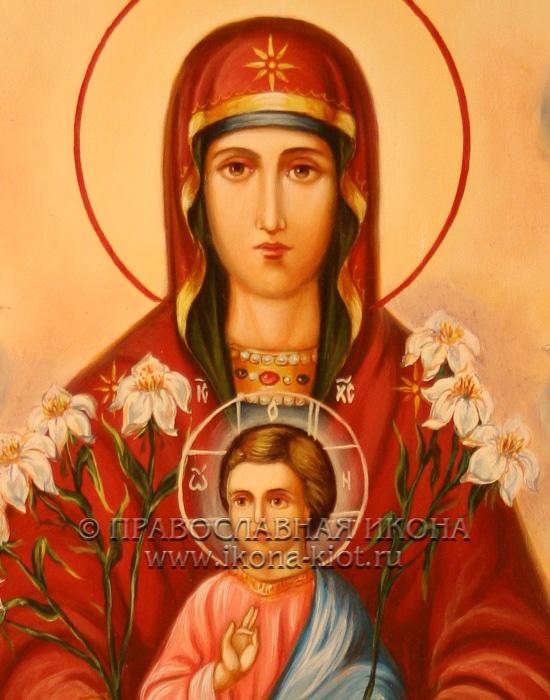 Икона «Дивногорская Божия Матерь» (образец №2)