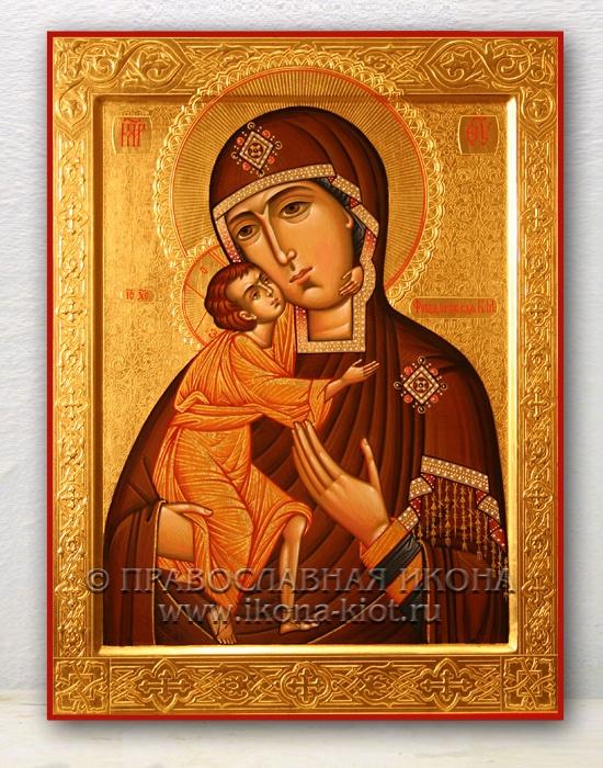 Икона «Феодоровская Божия Матерь» (образец №4)