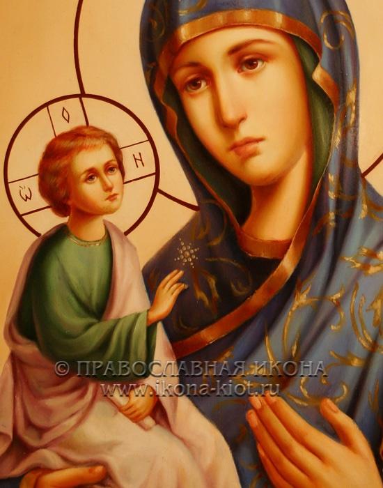 Икона «Иерусалимская Божия Матерь» (образец №2)