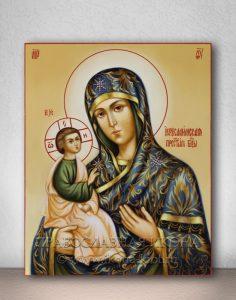 Икона «Иерусалимская Божия Матерь» (образец №3)