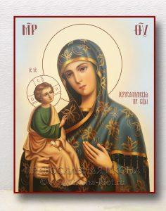 Икона «Иерусалимская Божия Матерь» (образец №7)