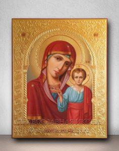 Икона «Казанская Божия Матерь» (образец №31)