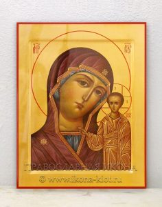 Икона «Казанская Божия Матерь» (образец №3)