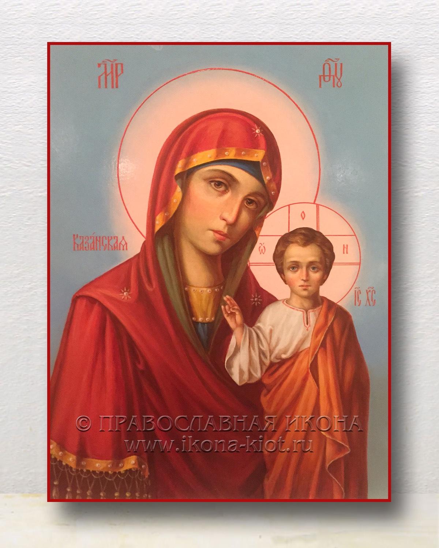 Икона «Казанская Божия Матерь» (образец №37)
