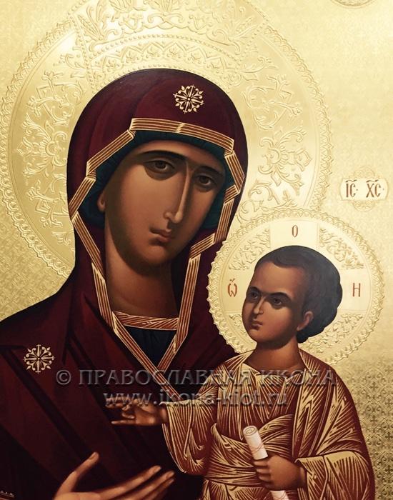 Икона «Ктиторская Божия Матерь» (образец №2)