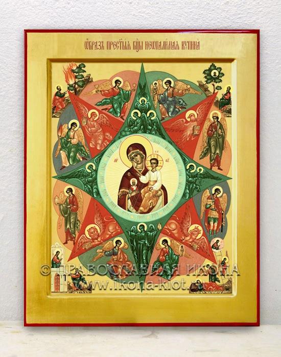 Икона «Неопалимая купина» (образец №1)