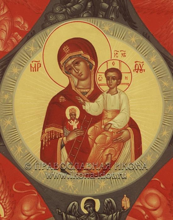 Икона «Неопалимая купина» (образец №4)