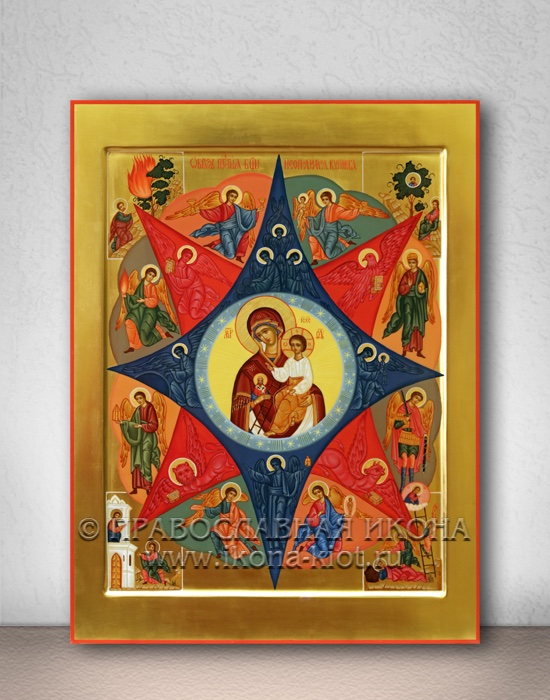 Икона «Неопалимая купина» (образец №7)