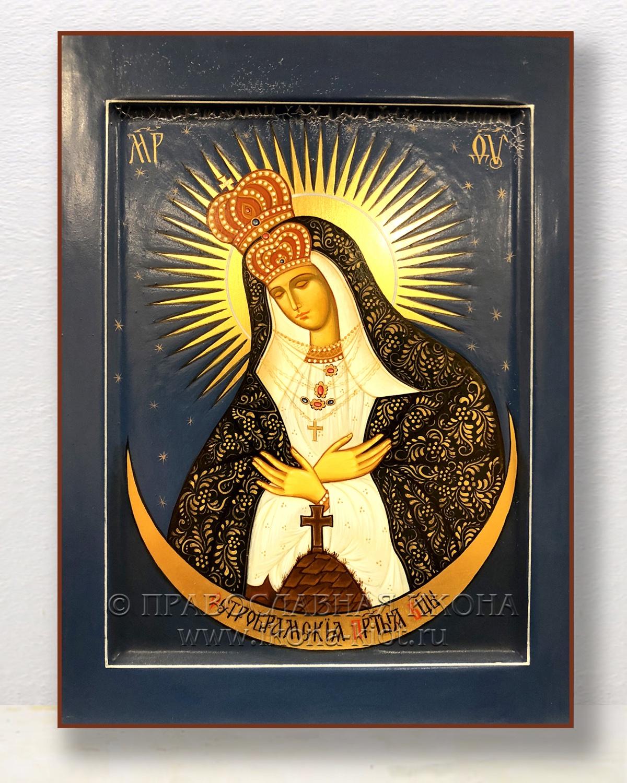 Икона «Остробрамская Божия Матерь» (образец №1)