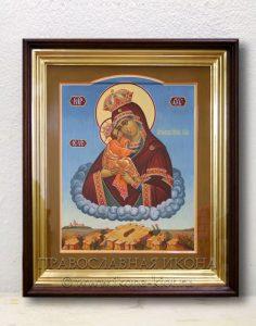 Икона «Почаевская Божия Матерь» (образец №3)