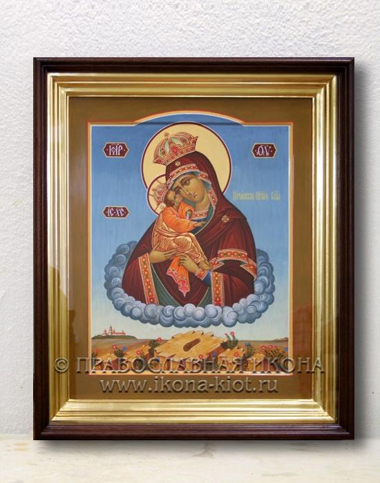 Икона «Почаевская Божия Матерь» (образец №2)