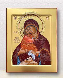 Икона «Почаевская Божия Матерь» (образец №1)