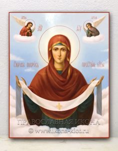 Икона «Покров Пресвятой Богородицы» (образец №10)
