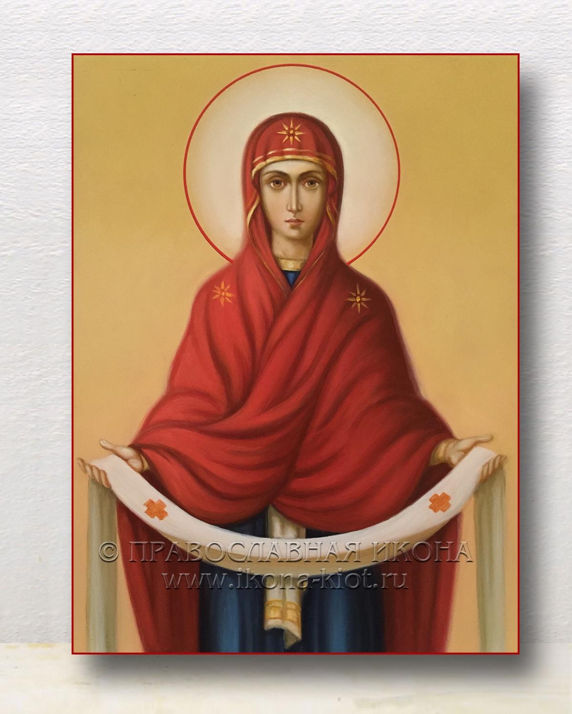 Икона «Покров Пресвятой Богородицы» (образец №11)