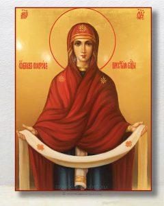 Икона «Покров Пресвятой Богородицы» (образец №12)