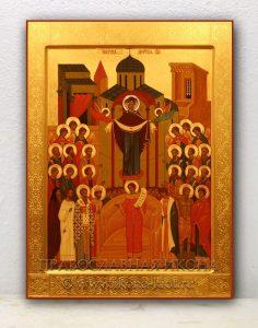 Икона «Покров Пресвятой Богородицы» (образец №13)