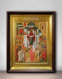 Икона «Покров Пресвятой Богородицы» (образец №15)