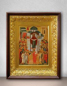 Икона «Покров Пресвятой Богородицы» (образец №16)