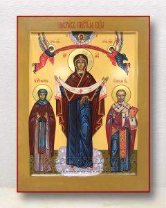 Икона «Покров Пресвятой Богородицы» (образец №17)