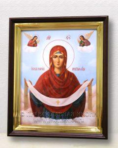 Икона «Покров Пресвятой Богородицы» (образец №18)