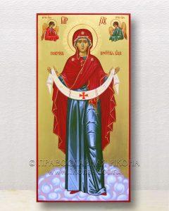 Икона «Покров Пресвятой Богородицы» (образец №19)