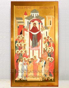 Икона «Покров Пресвятой Богородицы» (образец №5)