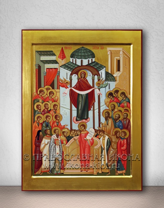 Икона «Покров Пресвятой Богородицы» (образец №7)