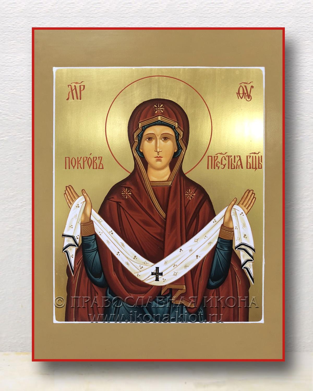 Икона «Покров Пресвятой Богородицы» (образец №8)