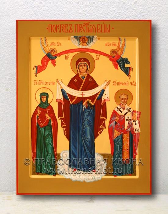 Икона «Покров Пресвятой Богородицы» (образец №9)