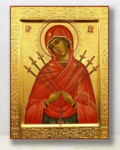 Икона «Семистрельная Божия Матерь» (образец №2)