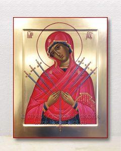 Икона «Семистрельная Божия Матерь» (образец №6)