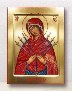 Икона «Семистрельная Божия Матерь» (образец №7)