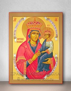 Икона «Споручница грешных» (образец №3)