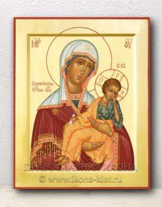 Икона «Старорусская Божия Матерь» (образец №3)