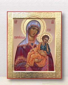 Икона «Старорусская Божия Матерь» (образец №1)