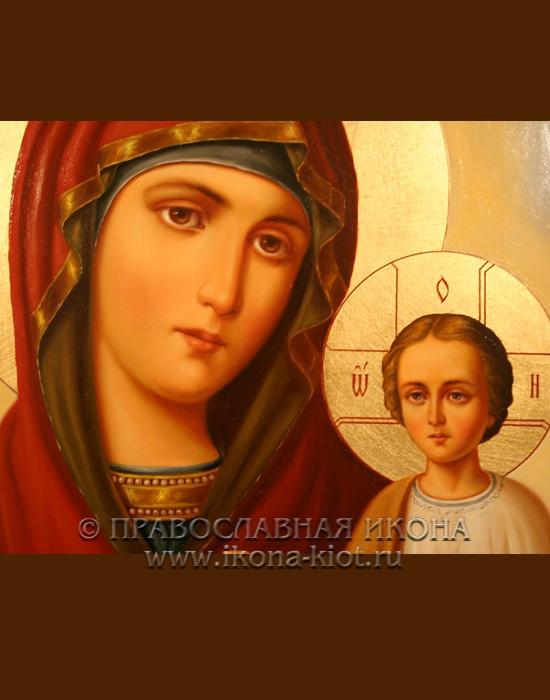 Икона «Тихвинская Божия Матерь» (образец №4)